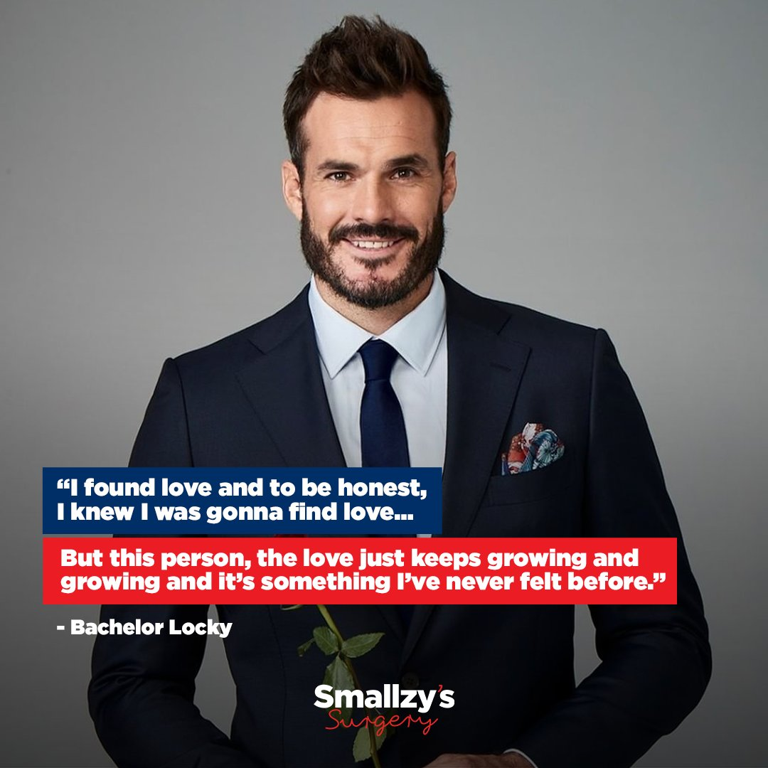 New Bachelor Locky had a lot to say about his chosen lady, and it's so adorable 🌹  Check out everything he had to say here: https://t.co/Inu3r7ItNv  #SmallzysSurgery #TheBachelorAU https://t.co/22nTLaogIe
