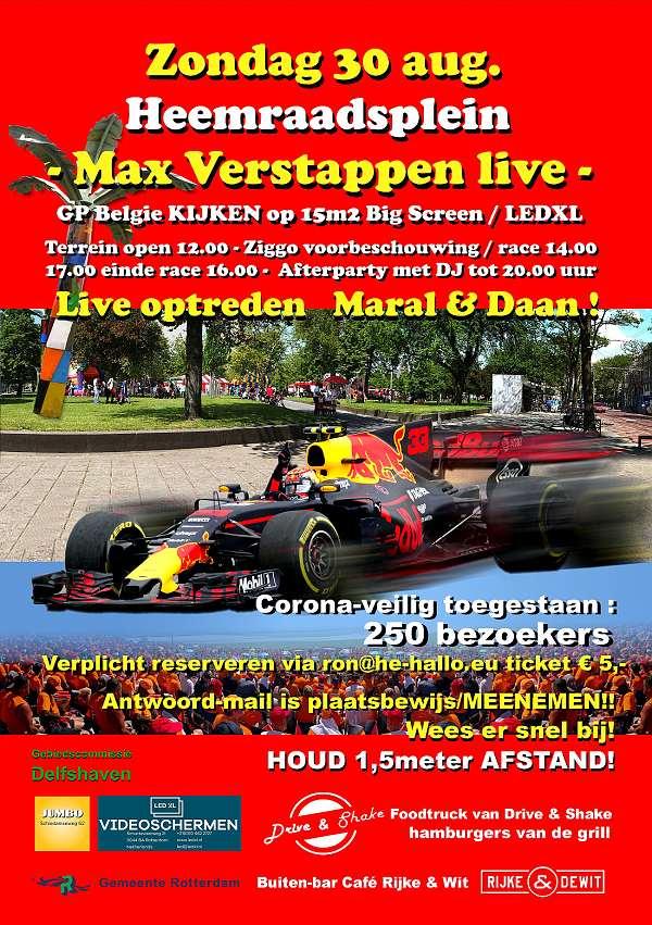 Hi Bert-Jan, dit trio ook Max-fans? Kom 30 aug. naar Heemraadsplein @Rotterdam Max live op 15m2 scherm! @Max33Verstappen @AlleenF1 @redbullNED @op_wijk  @JumboSupermarkt @uitagendardam #Rotterdam #Formula1 #event #EnjoyTheShow #life https://t.co/iFLJk26k4c https://t.co/ZcQHriioJ9