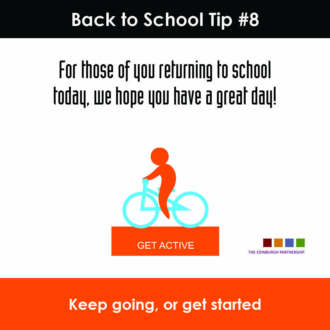 These next few days will be a challenge for many  #BackToSchoolEdin #buildingresilience #families #community