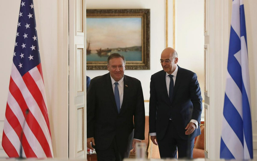 Greece, U.S. foreign ministers to meet over Eastern Mediterranean tensions https://t.co/hPVPWkqdCJ https://t.co/sMjddYN8NM