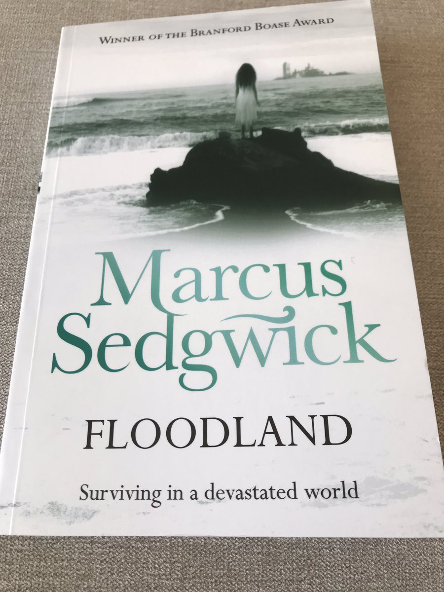 Just finished Floodland by @marcussedgwick. 📚🌊 What a beautifully-written, poignant book. Such a powerful message for everyone today and our future. I can't recommend this enough! @_Reading_Rocks_ @PrimarySchoolBC