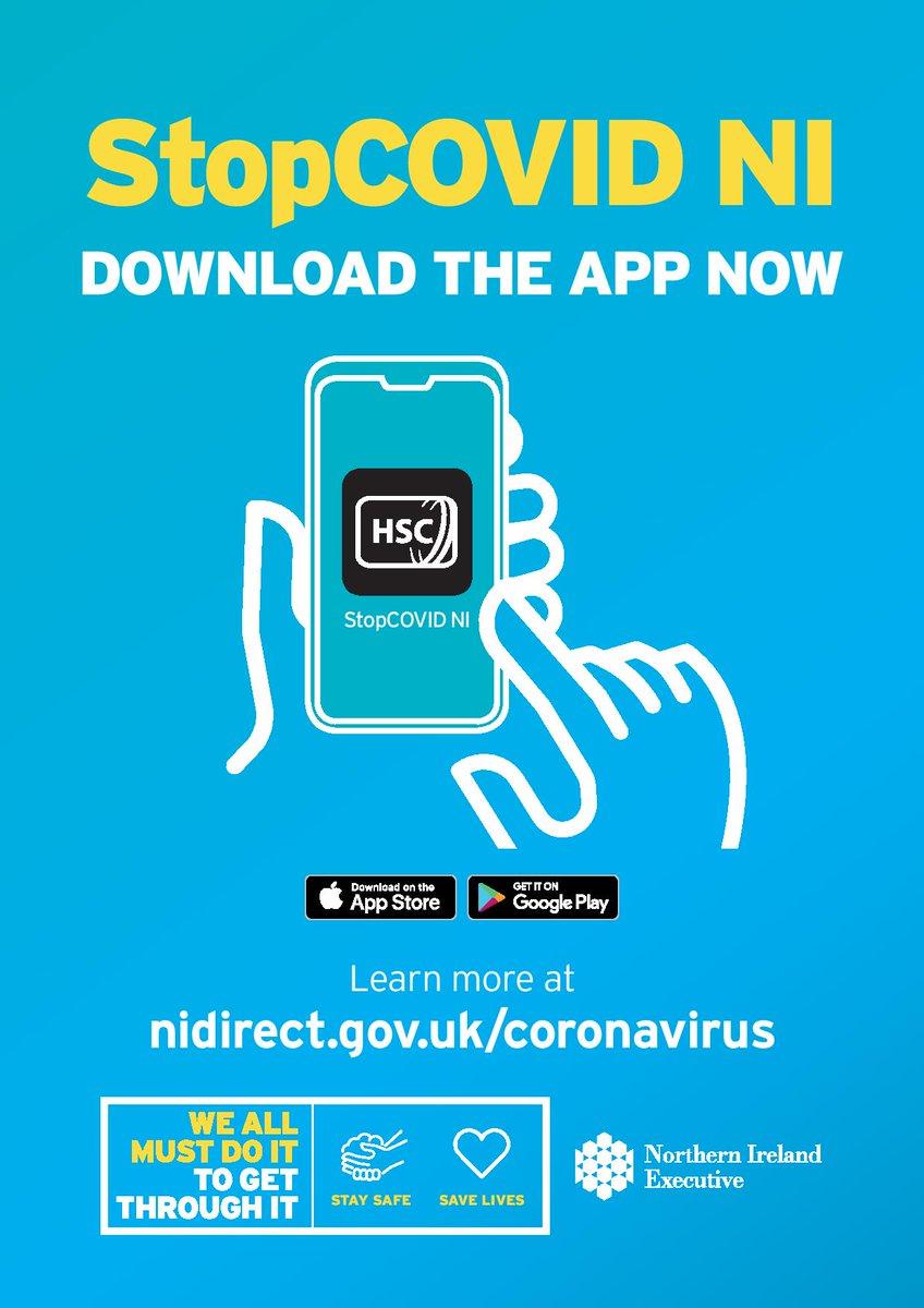 StopCOVID NI App - please download!