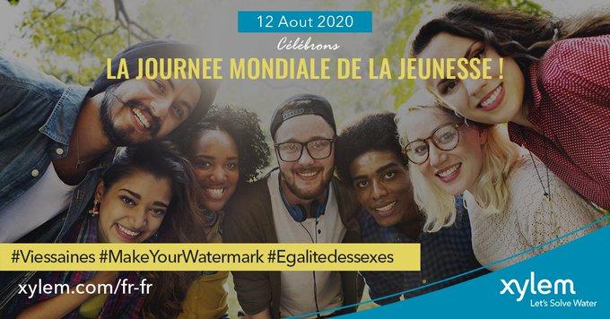 A travers la fondation #XylemWatermark, nous œuvrons à éduquer la jeunesse à adopter les bons gestes à l'égard de l'eau. Aujourd'hui, célébrons la jou...