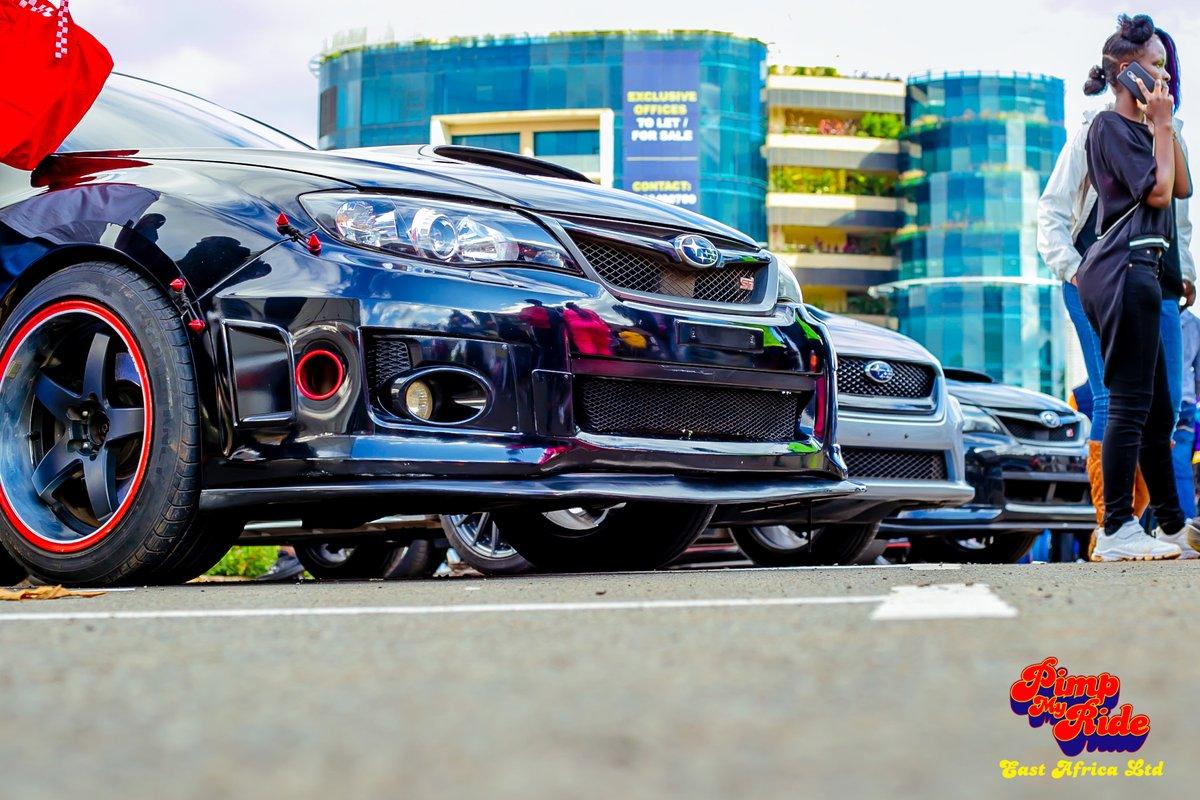 Pimped Subaru