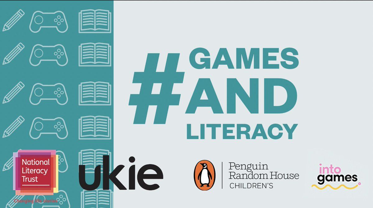 New research from @Literacy_Trust, supported by Ukie and @Penguinrandom reveals benefits of video games for young people's literacy, creativity and wellbeing - particularly for boys and irregular readers  https://t.co/TD548ud3I7 #GamesandLiteracy
