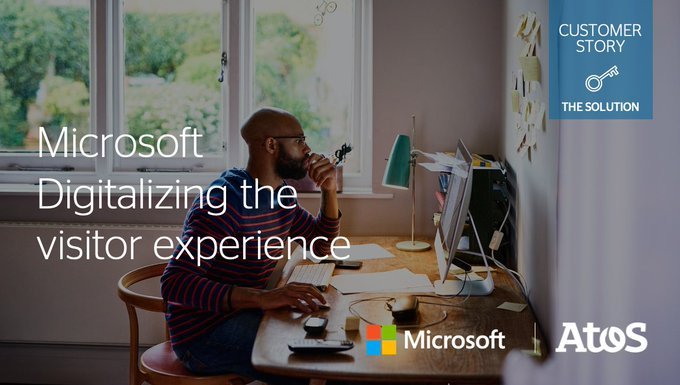 Discover how Atos and @Microsoft are working together to enhance the experience for visitors...