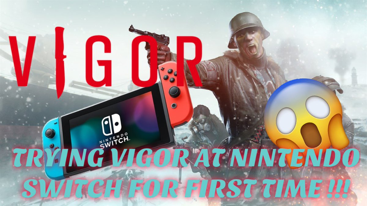 NEW GAME RELEASE !!  VIGOR : NINTENDO SWITCH  Must watch 👇👇 https://t.co/1nDWimX6BE  #SmallStreamersConnect #SupportSmallStreamers  #Stream #Streamers #smallyoutuber #SmallStreamerCommunity  @SupStreamers @CC_Rts @SGH_RTs  @Rapid__RTs @YTGainTrain #streamhelp #smallstreamer https://t.co/xaXCsriEGp