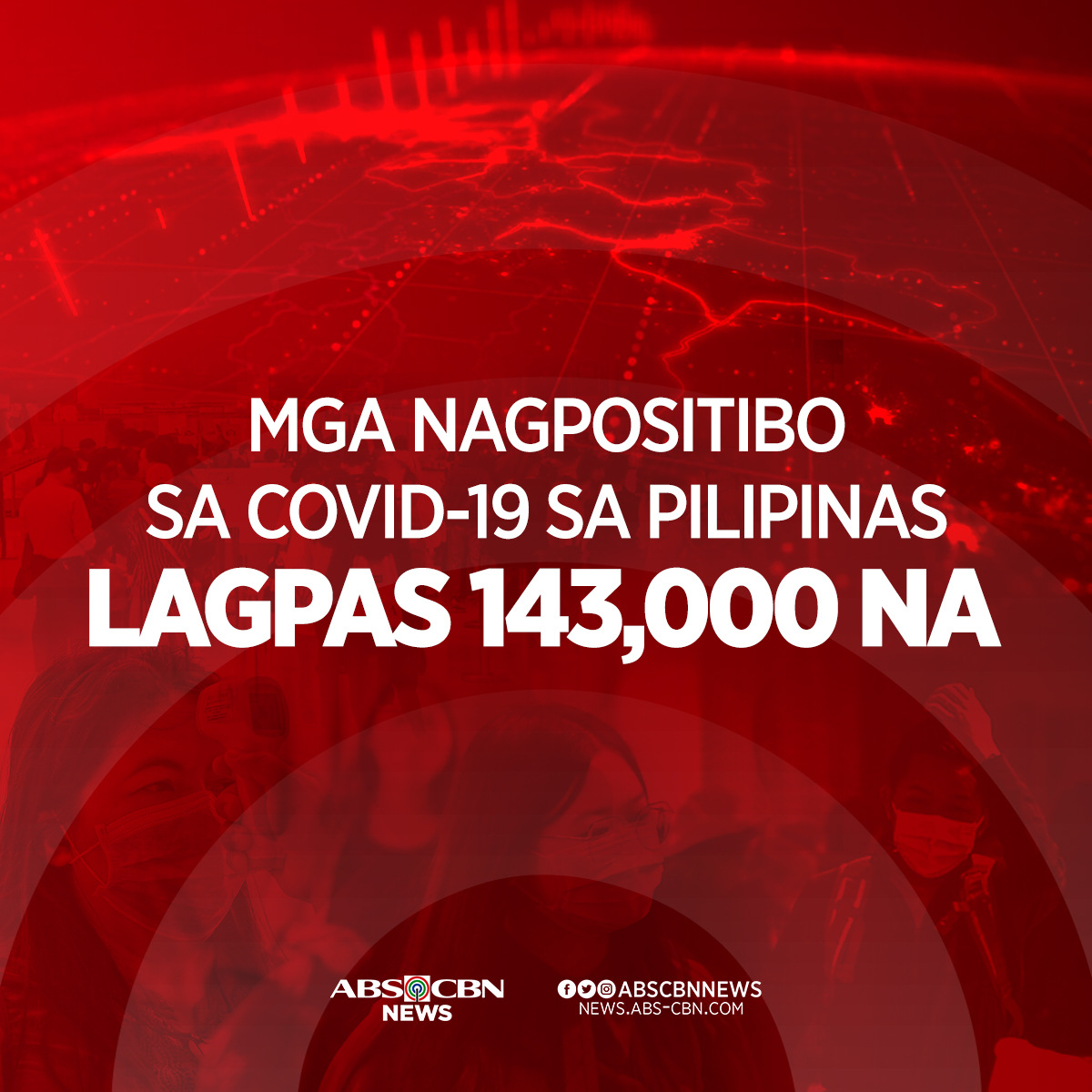 COVID-19 CASES IN PH BREACH 143,000-MARK  DOH reports 4,444 confirmed cases of #COVID19. As of 4 p.m., Aug. 12, 2020, the country now has a total of 143,749 cases.   Active cases reach 72,348  New recoveries: 636; total: 68,997. New deaths: 93; total: 2,404 | via @kristinesabillopic.twitter.com/QNG32bQIXH