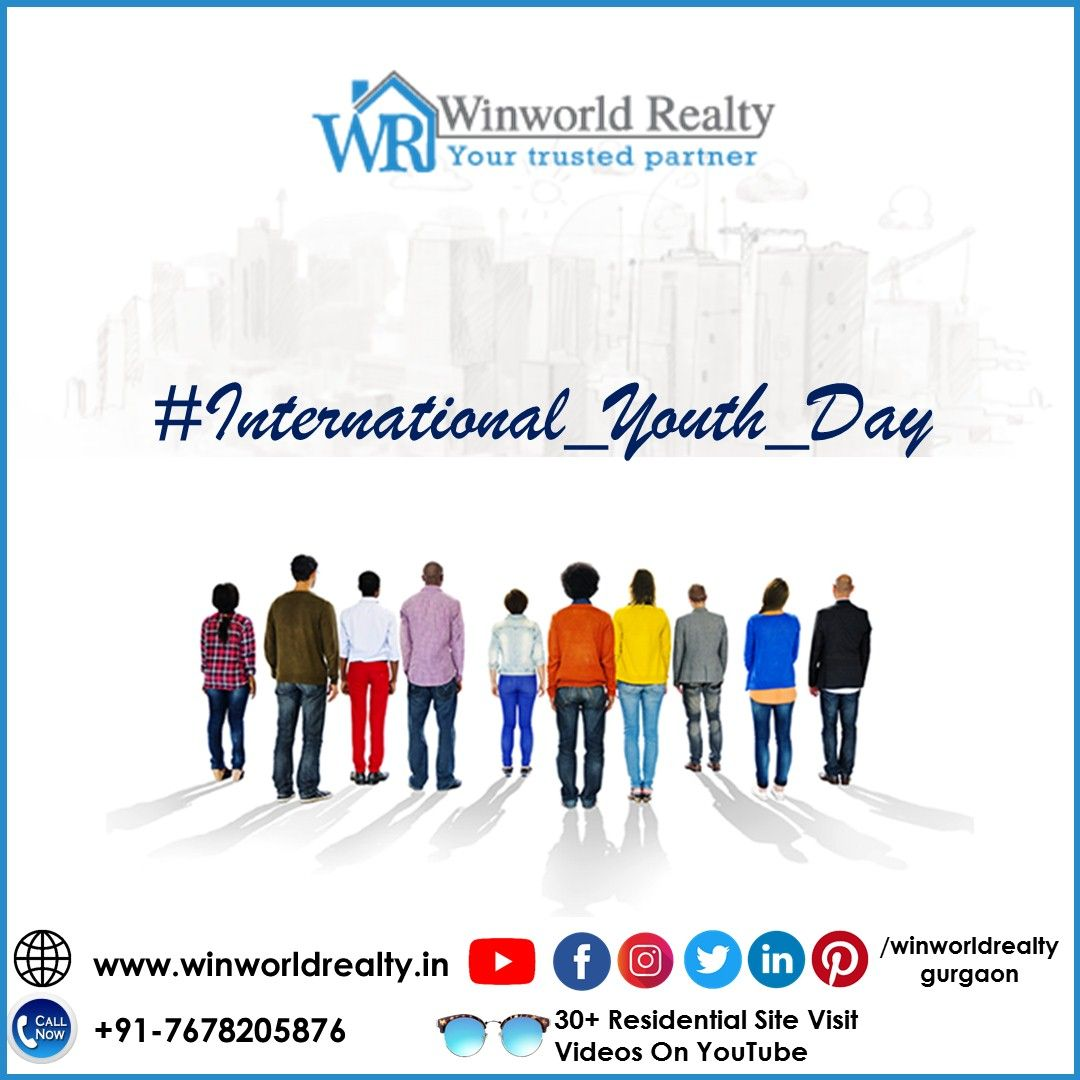 #International_Youth_Day  Youth is happy because it has the capacity to see beauty. Anyone who keeps the ability to see beauty never grows old. #WinworldRealty #internationalyouthday #nationalyouthday #swamivivekananda #youth #india #swamivivekanandajayanti #youthday #inspiration https://t.co/ky4cuhxjvD