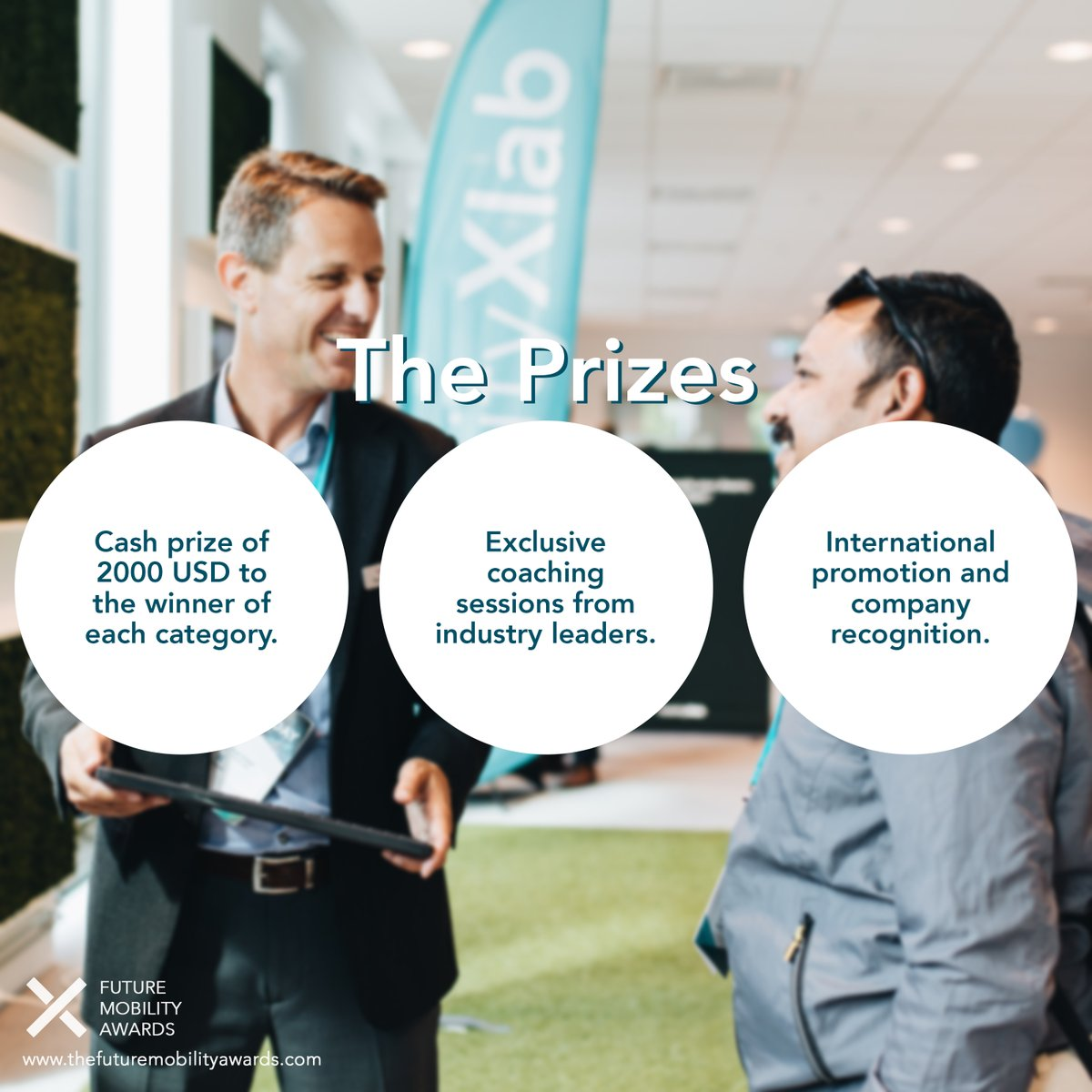 Have you seen the exciting prizes for the Future Mobility Awards? Read more and apply before August 21st at https://t.co/HPACGeaut1 @volvocars @VolvoGroup @Veoneer @cevt @ericsson @MathWorks https://t.co/kA2hzjq5Y9