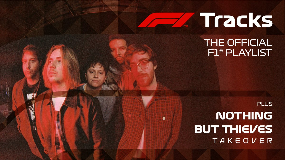 Southend rockers @NBThieves have taken over #F1Tracks this weekend, ready for the #SpanishGP! 🇪🇸  🎧 Listen to their anthem picks now on @Spotify >> https://t.co/gK94KUnsNc https://t.co/EC6hr3GzMN