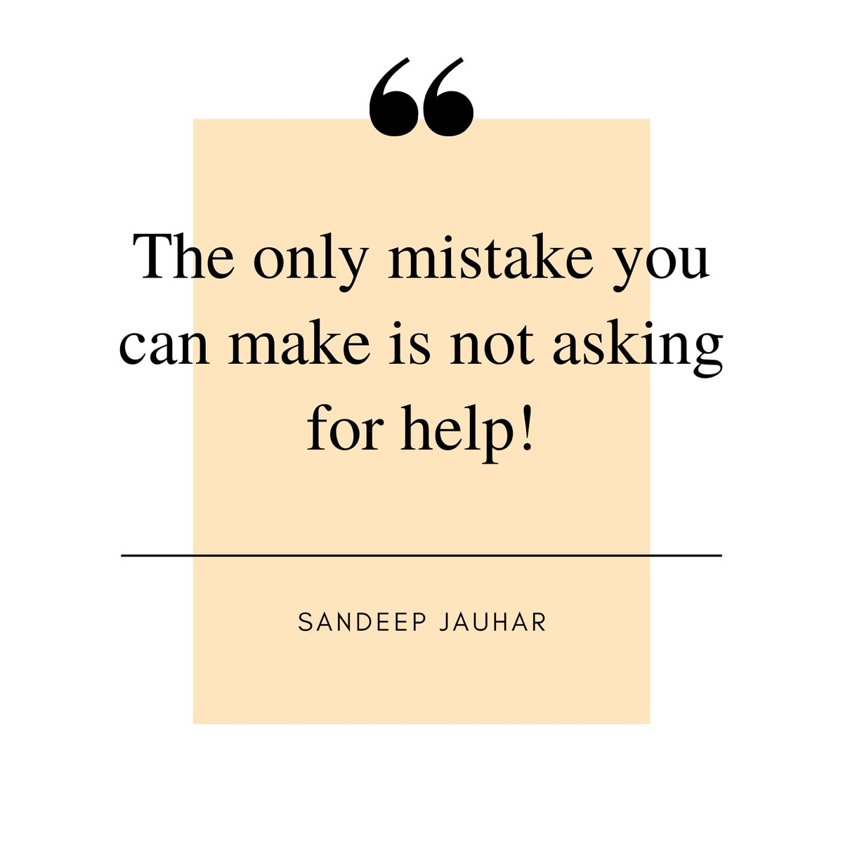 Trying to act like a superhuman and pushing yourself to the limits while you can simply get help by asking.. How often do you make this mistake? . . . . #shareduties #askforhelp #collaboration #helpinghand #strongertogether #itsok #findpeace #quoteoftheday #sandeepjauhar https://t.co/bIethWt8Lo