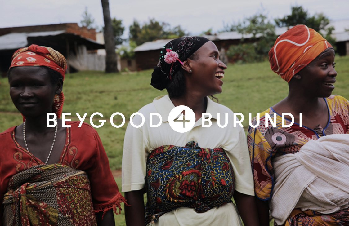 Mothers in Burundi want to provide clean, safe water for their children. Let's help them, together:  #BEYGOOD4BURUNDI