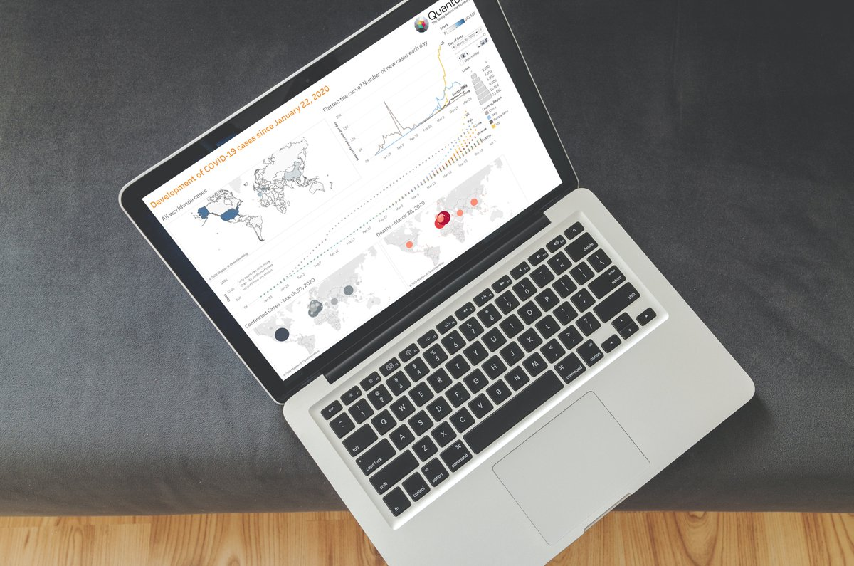 Learn how to create a compelling narrative thru effective #datavisualization & more at Quantum's Visual Analytics & Storytelling with Tableau course, Sept 2 & 9 in Zürich. More Info: https://t.co/i3vqXrVrOZ