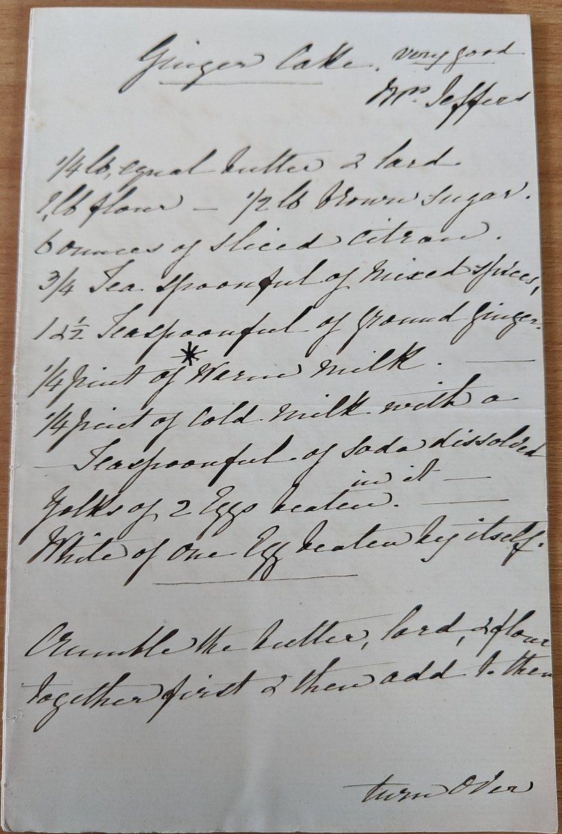 During lockdown, one of our Archivists decided to turn his hand to baking a historical ginger cake mentioned in one of our collections. You can find out on today's blog how he got on! 👨🏻🍳   ➡️  https://t.co/Tse5AndalL  Anyone else now hungry?🍰   #ExploreYourArchive https://t.co/WRDrs1dvMw