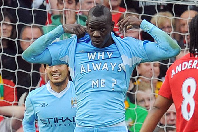 Happy birthday to the icon that is Mario Balotelli - got any fireworks in to celebrate