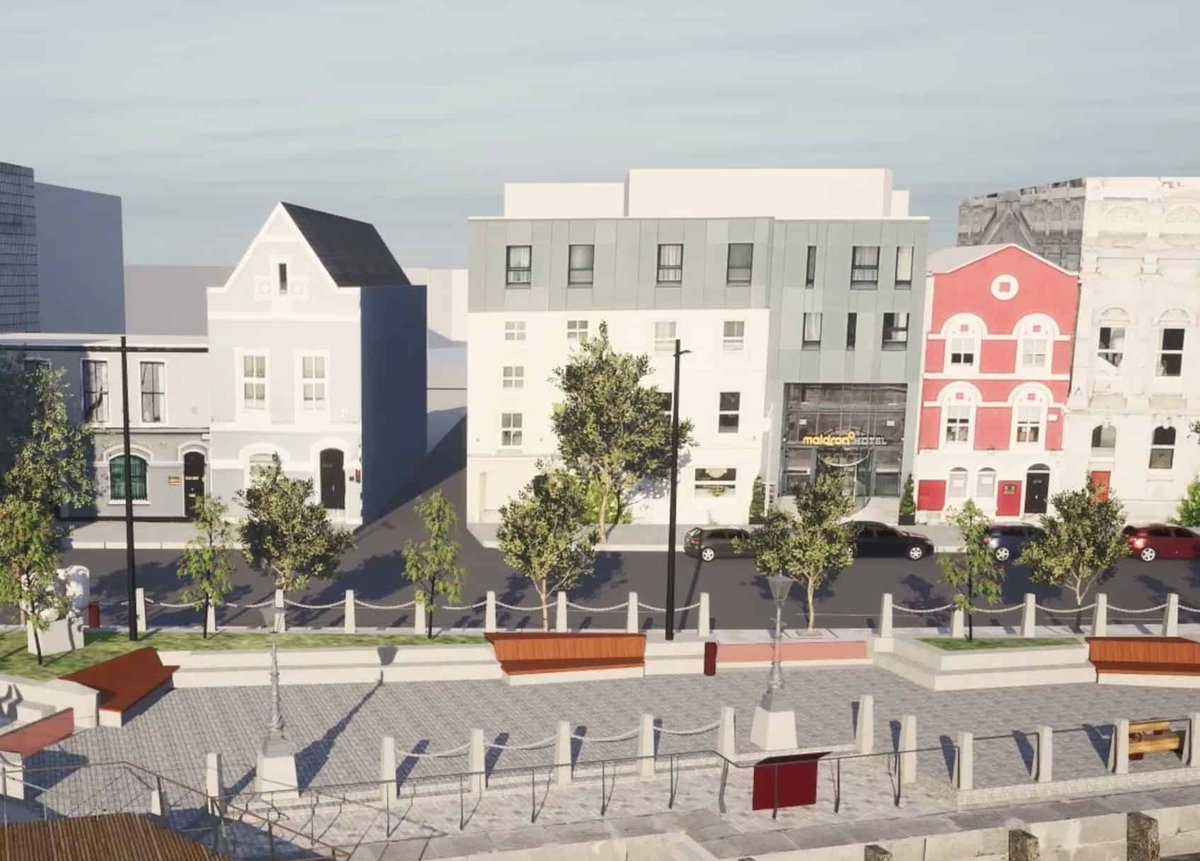 Save Cork City has lodged a new legal challenge to the City Council's Morrisons Island project https://t.co/fqvWjqHbeG https://t.co/XaOe71t3av