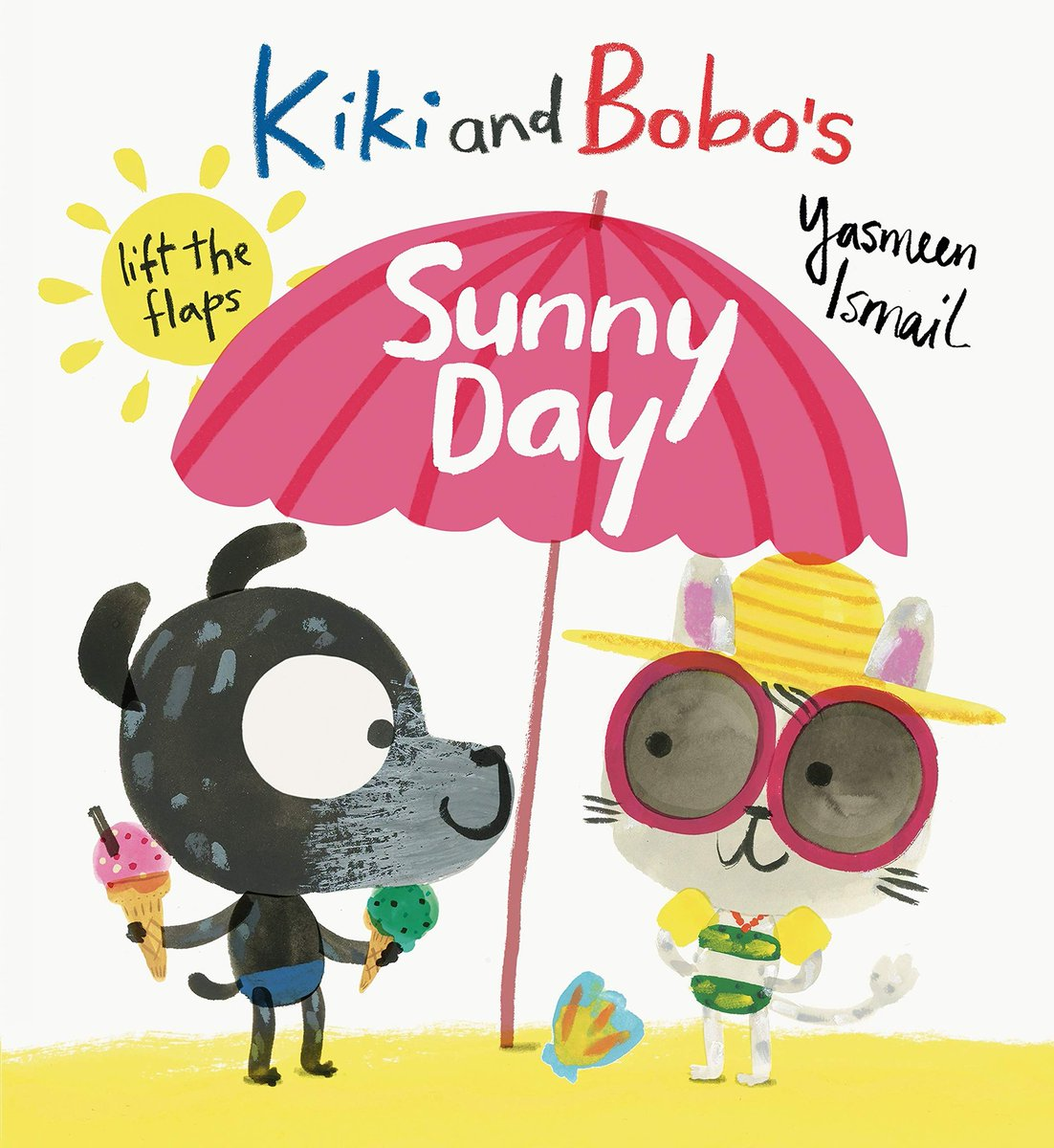 On a beautiful day like today we are being transported to the beach by reading Kiki and Bobo's Sunny Day by Yasmeen Ismail. This was one of the many beautiful books in the @BelfastHarbour Big Book Box given to all Belfast Sure Starts during lockdown. Supported by @arts_businessni https://t.co/69O1NL6tTk