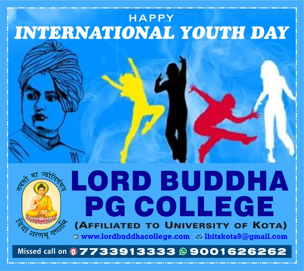 Arise! Awake! and stop not until the goal is reached.  #nationalyouthday #swamivivekananda #vivekananda #youth #india #swamivivekanandajayanti #YouthDay https://t.co/jrhk8C7epl