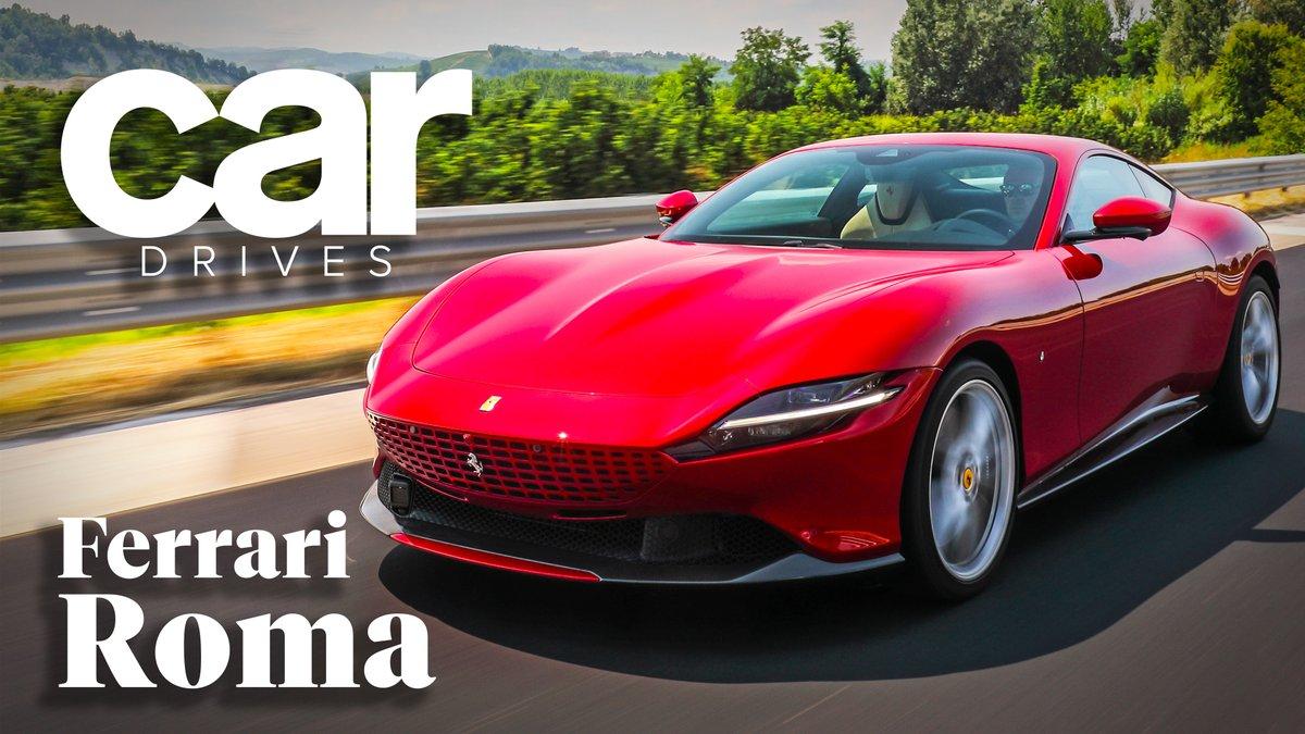 Image for the Tweet beginning: New Ferrari, you say? #Ferrari
