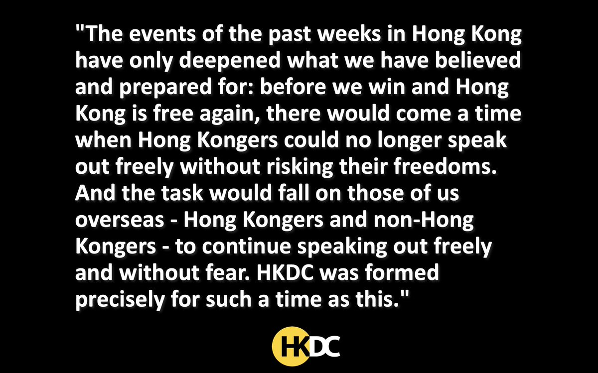 For such a time as this. Support the voice for Hong Kong: gofundme.com/weareallhongko…