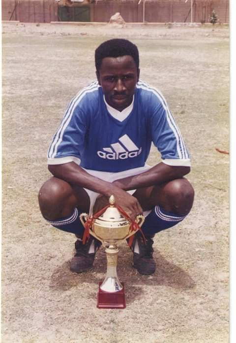 From playing to coaching, nothing has changed. Tapha Manneh is still winning trophies 😊 #TogetherStronger #ThisIsLiscrFC