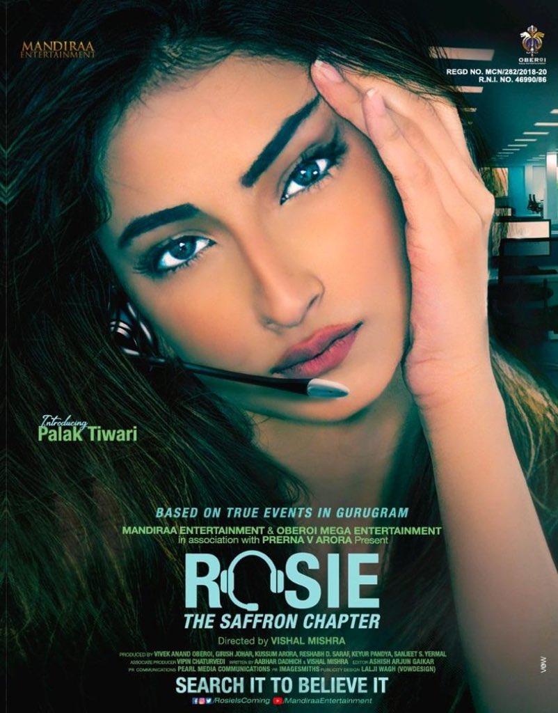 One the BEST in the business @CompleteCinema resumes... & our #Rosie on the cover page! Thank you @atulmohanhere 💗🎉🌈💫 @mandiraa_ent #PrernaVArora @palaktiwarii @vivekoberoi @d_reshabh @IKussum @u_dhanesh @Ikeyurpandya @sanjeetyermal @mishravishal