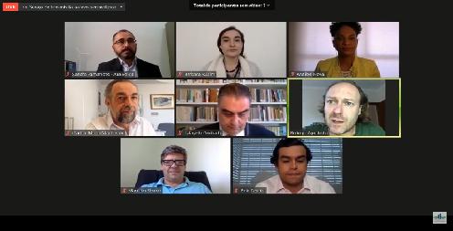 A Frente Parlamentar Ambientalista, coordenada pelo deputado @rodrigoagost (PSB-SP), realizou, nesta quarta-feira (12), videoconferência para debater a importância da energia limpa no País. https://t.co/zyRvpxVTTk