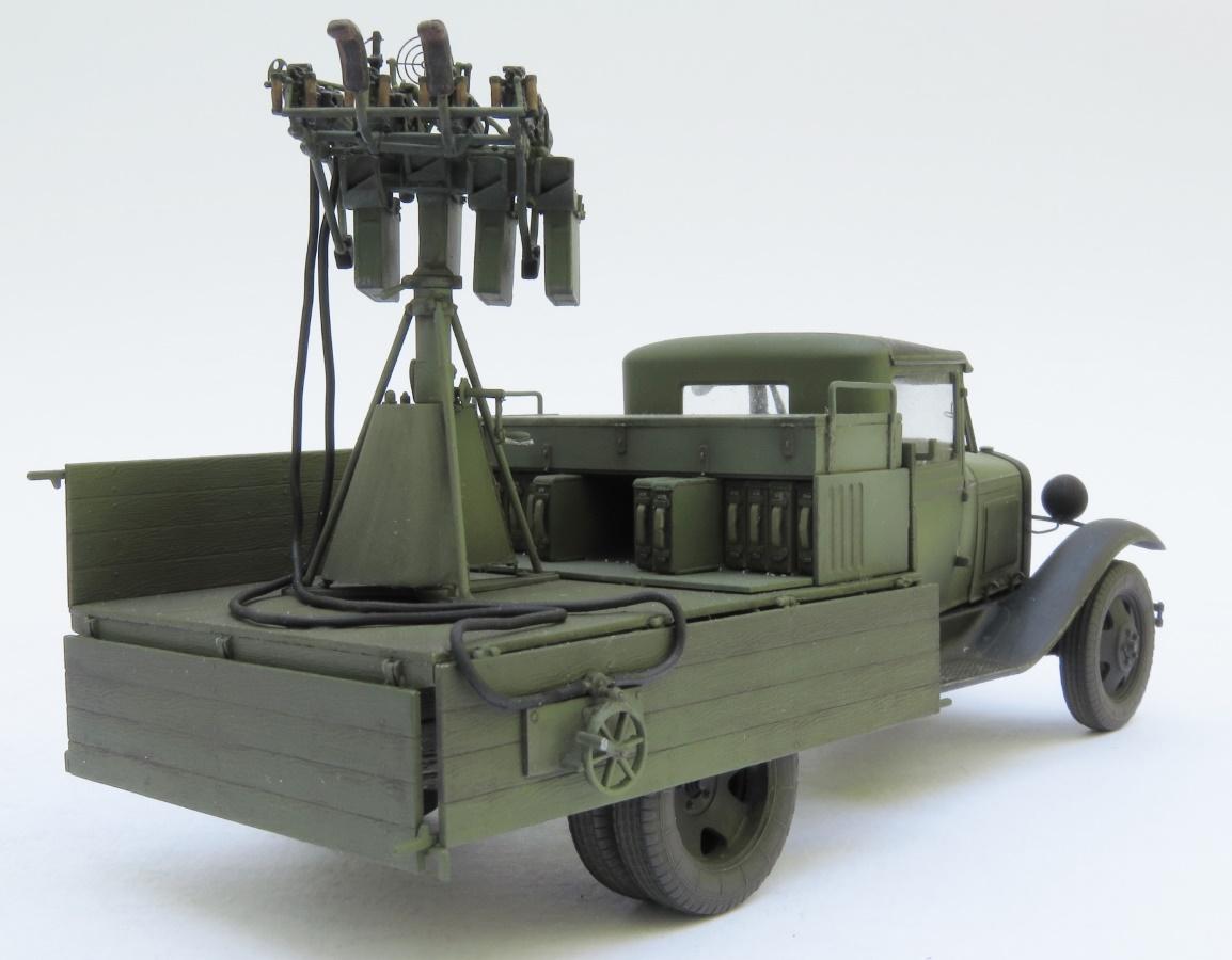 """MiniArt Models on Twitter: """"Used #MiniArt Kit: 35186 SOVIET 1,5 t. TRUCK w/  M-4 Maxim AA Machine Gun https://t.co/zZCZbfWYpv Source:  https://t.co/TteWnDfxvU… https://t.co/SY1lAjY70M"""""""