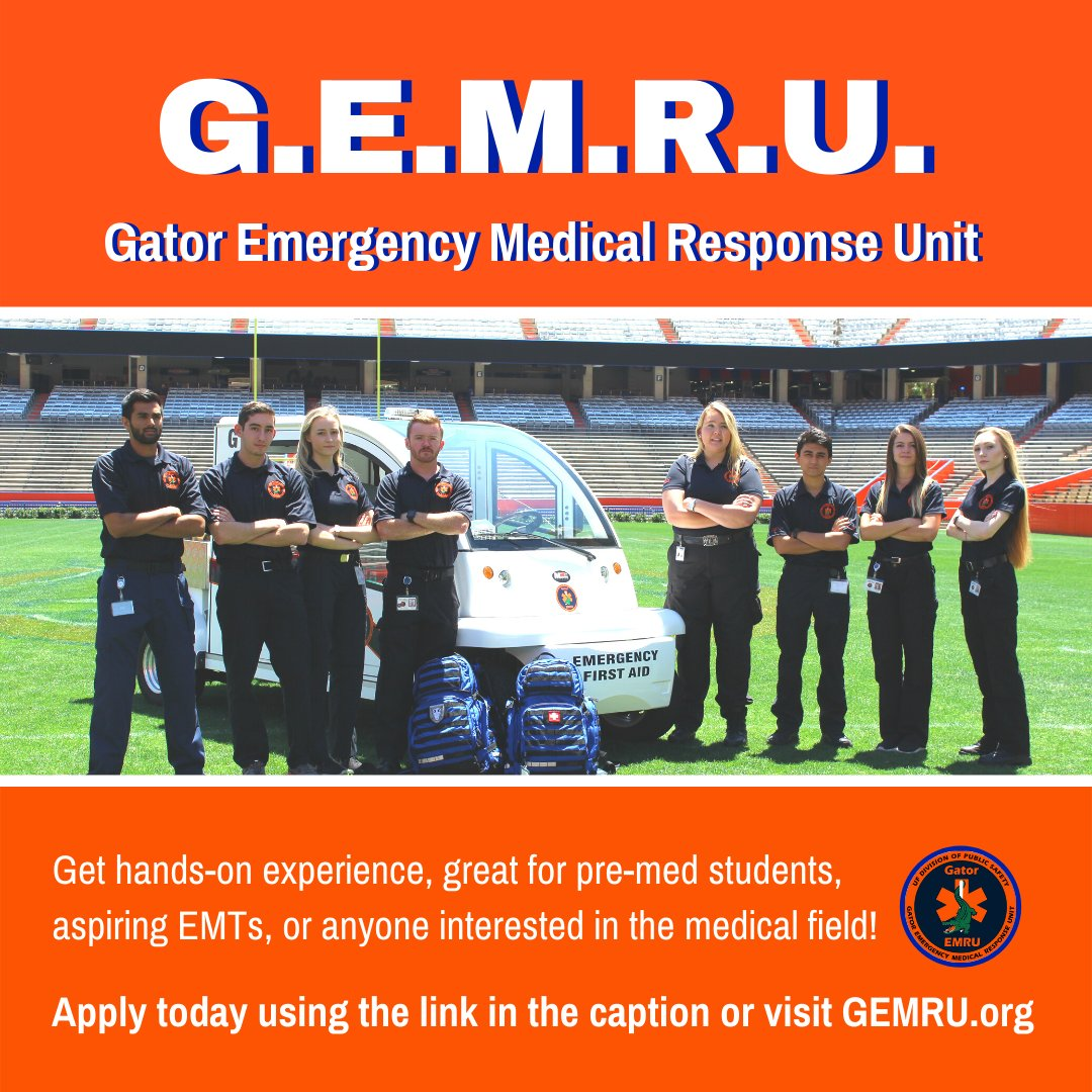 Great news! GEMRU is now taking applications for the upcoming semester, apply at docs.google.com/forms/d/e/1FAI…