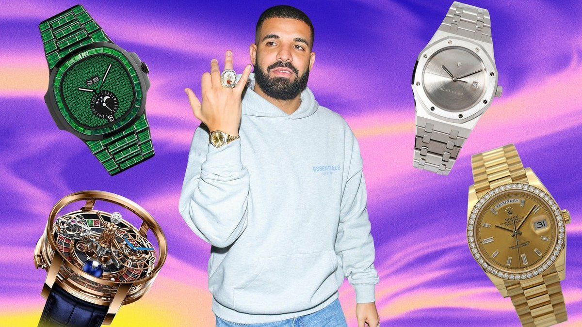 Drake's #WatchCollection Is as fun #AsIt gets . 👀 🕺 Amazing! Isn't it? rite.ly/wfSp
