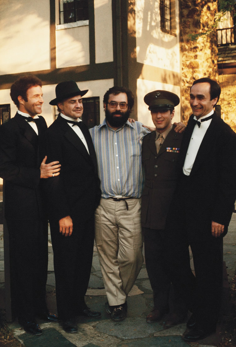 Remembering John Cazale, born on this day in 1935. 📸: Behind the scenes of THE GODFATHER & THE DEER HUNTER.