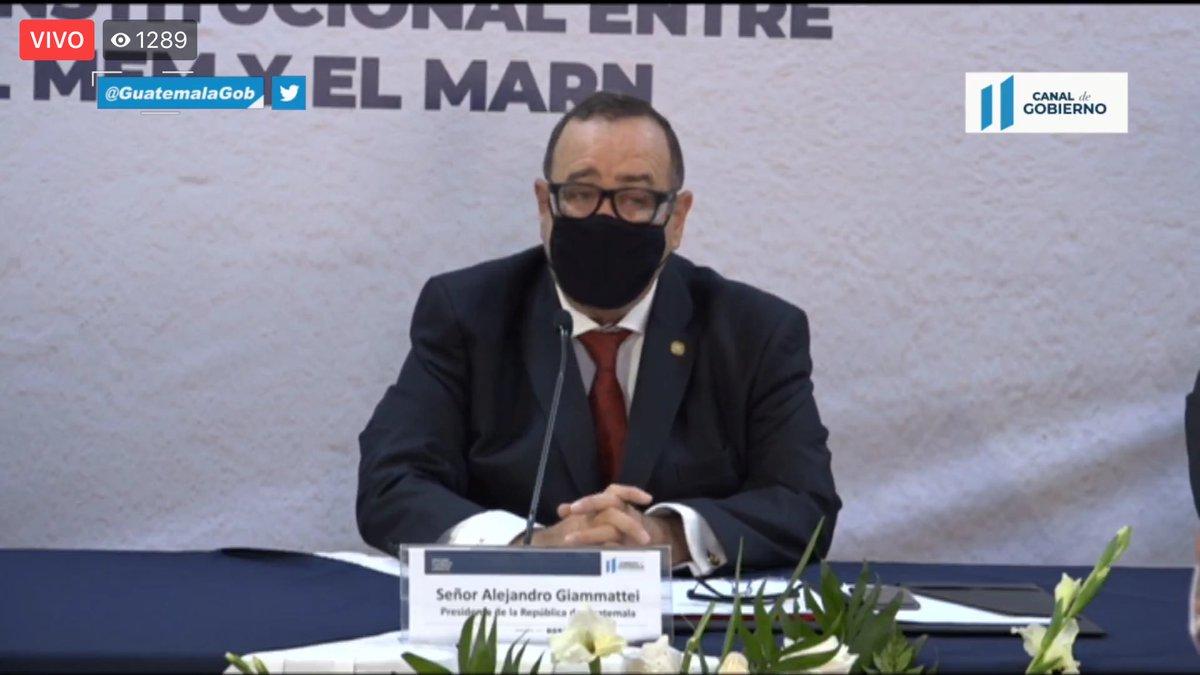 test Twitter Media - Después de las intervenciones de los ministros del MEM y MARN, el presidente Giammattei, señala que han retomado la intención de llevar a cabo el plan de Gobierno, señala que dentro de la innovación, está cambiar procedimientos dentro de la administración pública. https://t.co/xHpDUfZP6T