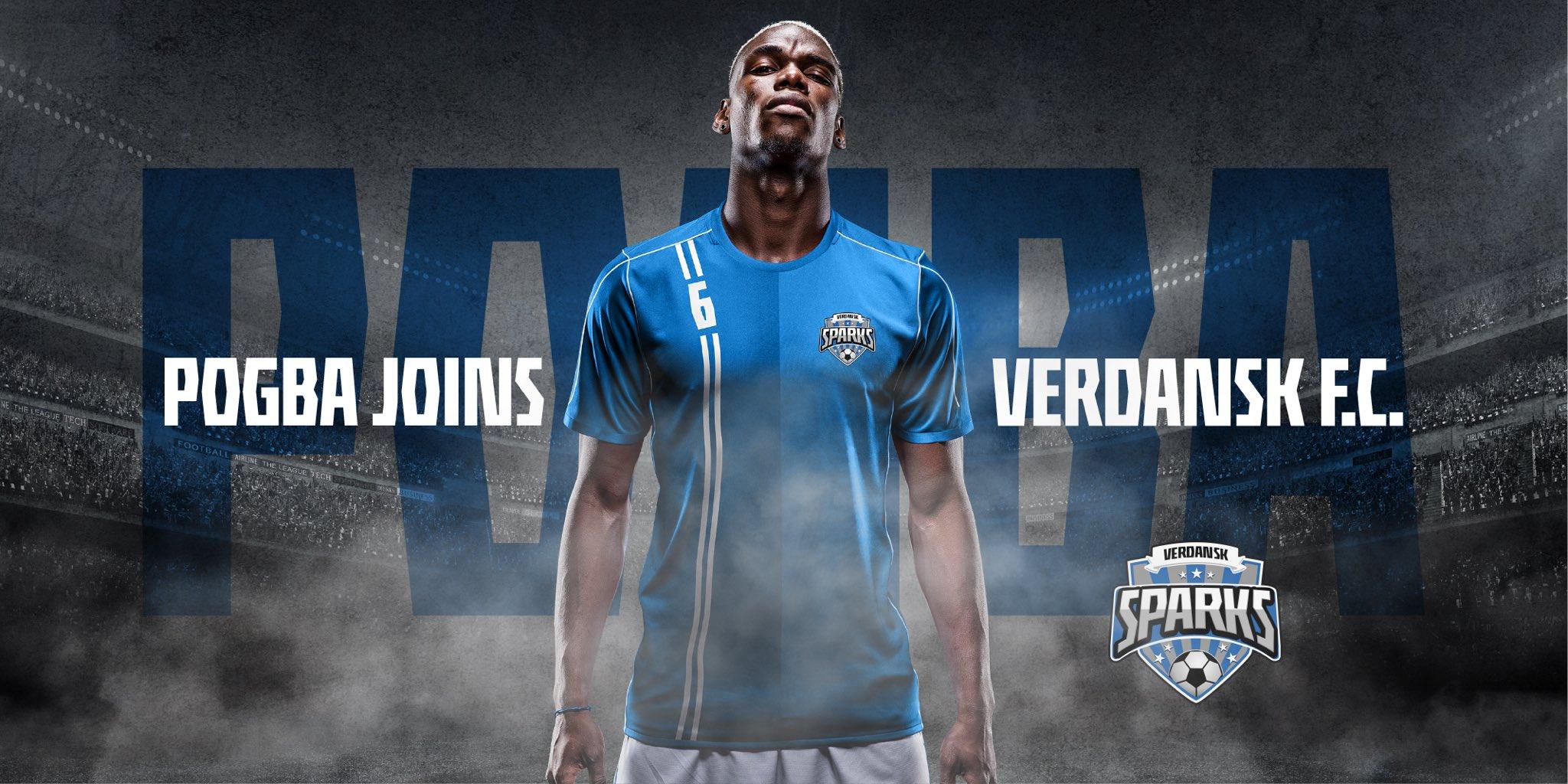 Paul Pogba Verdansk FC