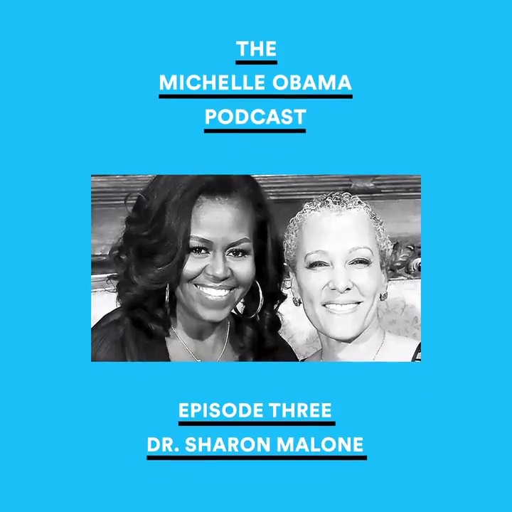 As women, we often have questions about our bodies—what we know, what we don't know, what we're uncertain or anxious about. For me, @smalonemd is the person I turn to talk about health. Listen to our conversation now on @Spotify: spoti.fi/MichelleObamaP… #MichelleObamaPodcast
