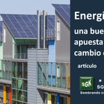 Image for the Tweet beginning: #EnergíaSolar una buena apuesta contra