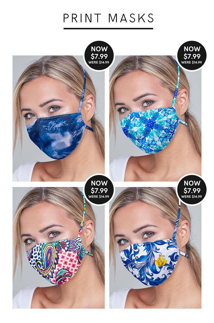 Our printed masks are now on sale! Not only are they reusable and washable, but they come in five fun prints. See them all at the link below.  Shop Print Masks: https://t.co/6KwnIZVBg6 https://t.co/zmx9WSVkNX