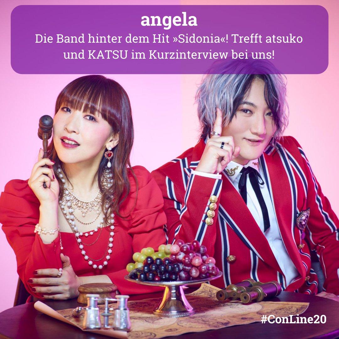 ドイツで開催されるConnichi Onlineにangelaがインタビュー出演します❗️  出演日時などの詳細は後日Connichi Onlineオフィシャルサイトにてお知らせされますのでお楽しみに♪  #angela_jpn #ConLine20 https://t.co/bhf9gGvRcy