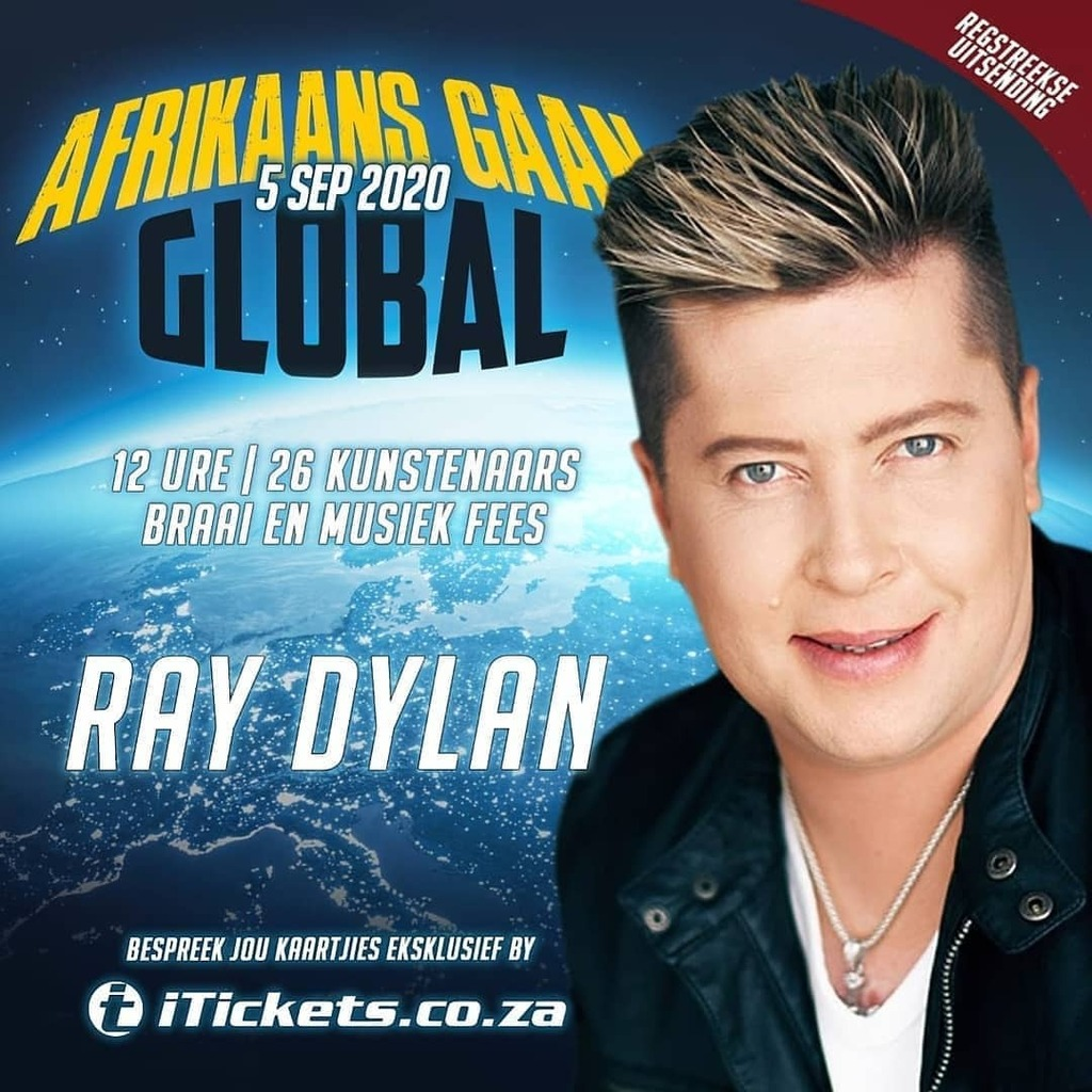 Credit to @raydylanmusic : AFRIKAANS GAAN GLOBAL!  Kry kaartjies by: https://t.co/DOat5UIY20 (link in bio) @afrikaansgaanglobal @musiek_bemarking @saartists @afrikaansm @starsharefame @weberbraaisa @iticketssa @brandhqsa https://t.co/7aOBJL4FUF https://t.co/NpTeQKX8eI