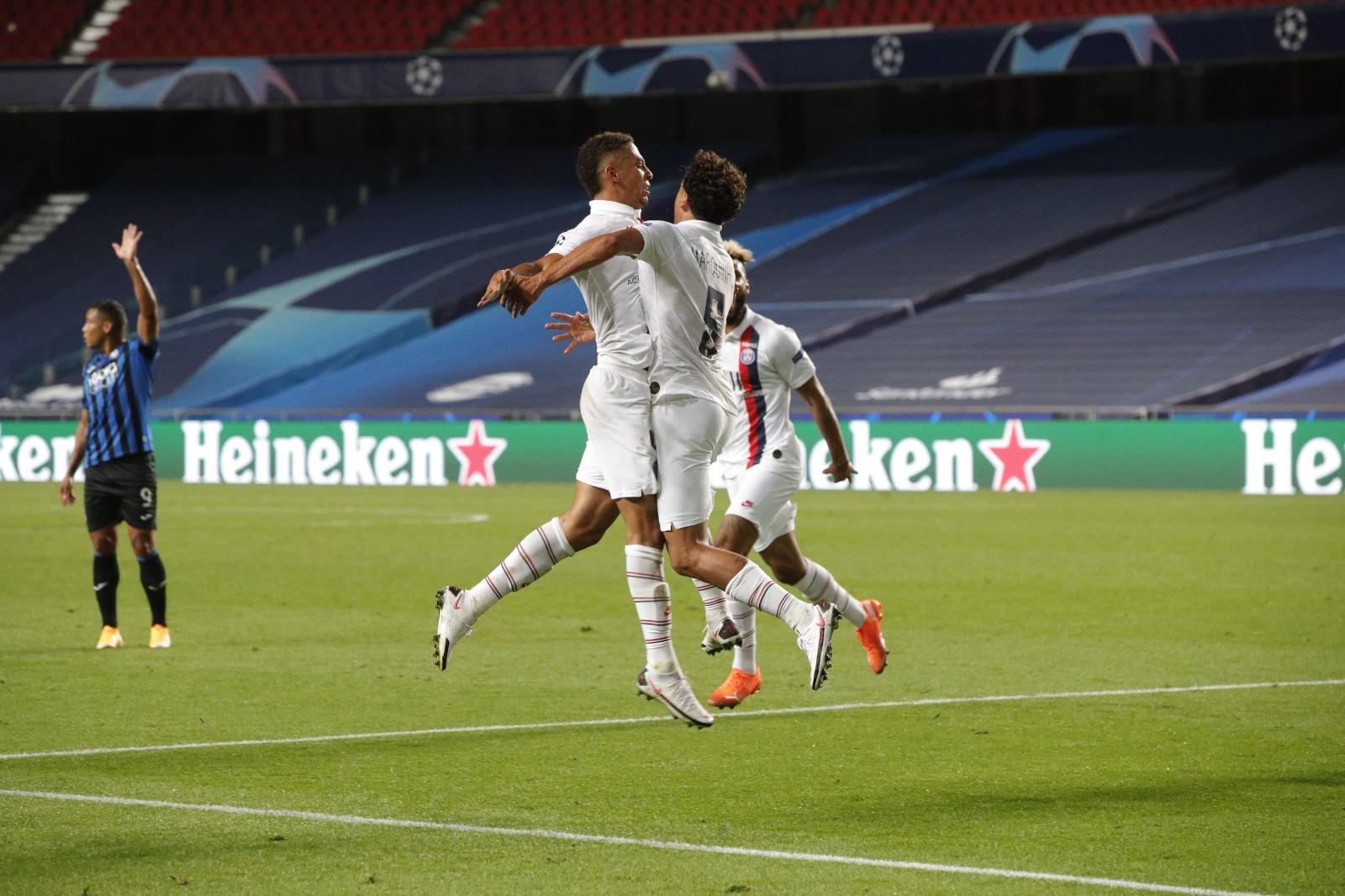PSG consigue remontada histórica y vence a Atalanta, marcó dos tantos en tres minutos sobre le final del juego