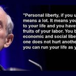 Image for the Tweet beginning: Individual Liberty - You Can't