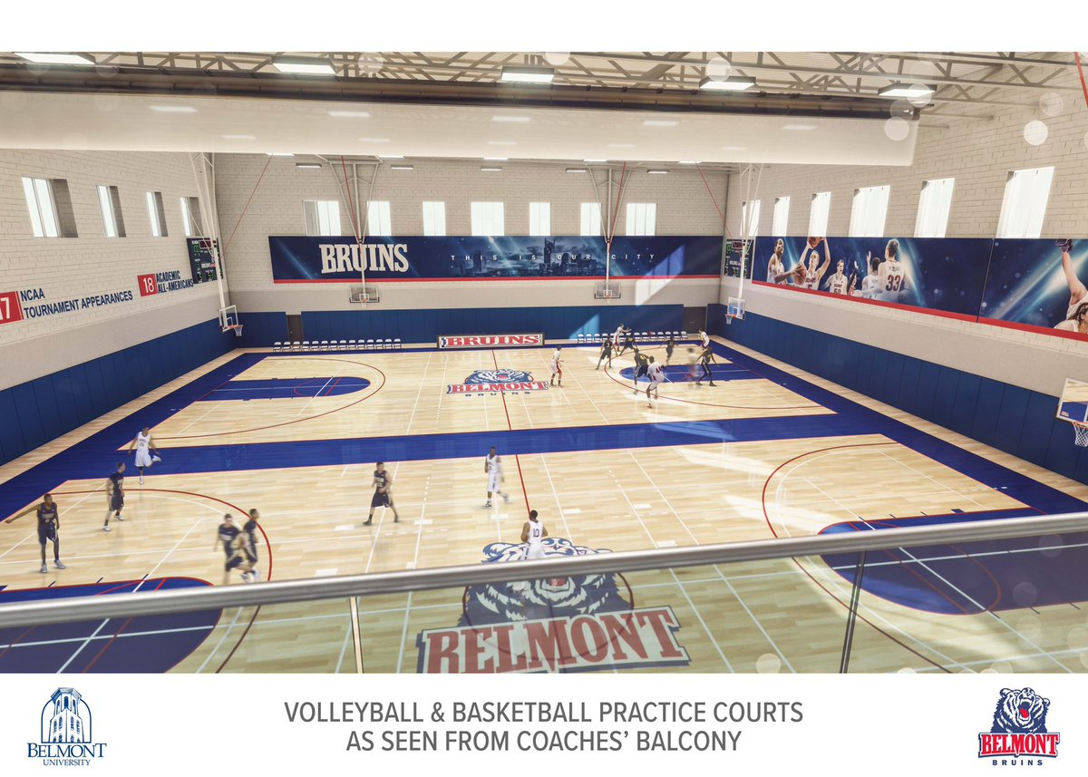 Making major progress on the future home of Belmont Hoops, Volleyball, & Tennis! Can't wait. 😝😍