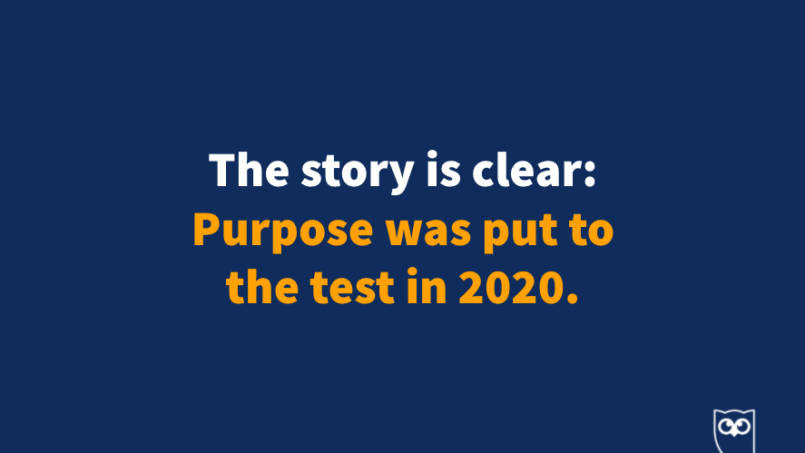 "Purpose was put to the test in the first half of 2020. What is your brand purpose? How you can you express your purpose, and how can you help your community?   ""Brands who have a purpose outperform those without one."" - @morganzerr  #HootEssentials https://t.co/dfRBH8qzDF"