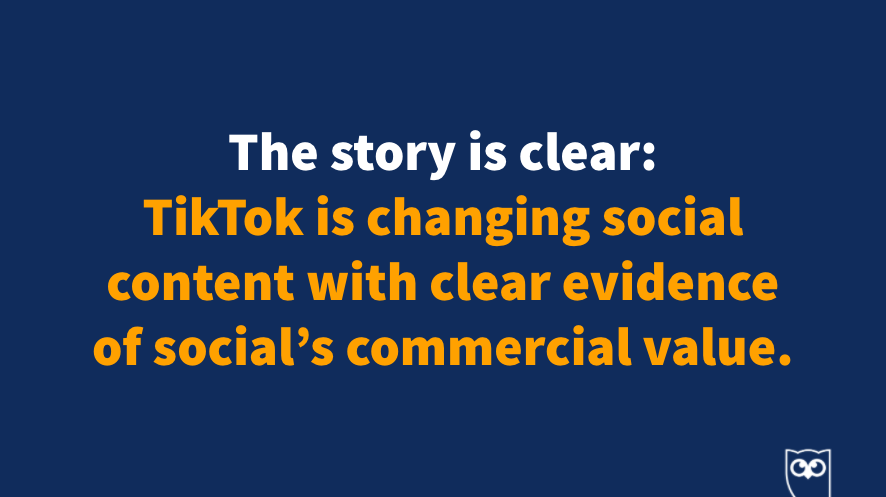 TikTok is changing social content with clear evidence of social's commercial value.  Also, @sarahdawley really, really likes it. #HootEssentials https://t.co/Kfbia2BKbA