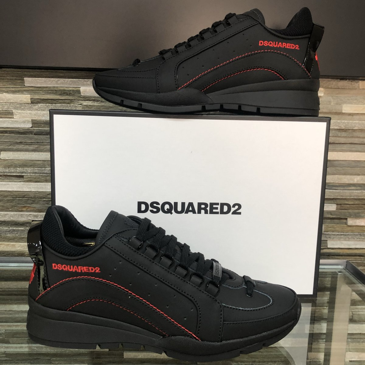 New in men's Dsquared2 Trainers now in store . . . . #mensfashion #dsquared2 #trainers #new #aw20pic.twitter.com/wuNG7yHfv1