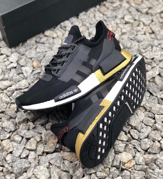 adidas nmd r1 v2 black gold