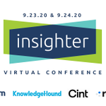Image for the Tweet beginning: The insighter Virtual Conference is