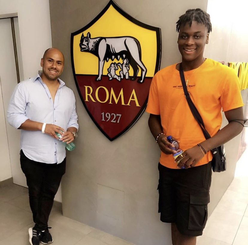 Mbunya Alemanji's Journey   Age 12 Kempston colts (Sunday League)  Age 13 Signs for Cambridge United  Age 16 Signs for @ASRomaEN   Things you love to see   #asroma #roma pic.twitter.com/RcVqPinP4S