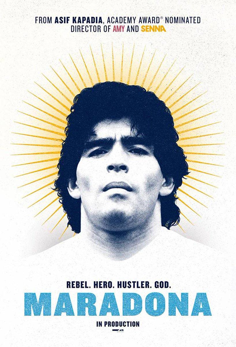 🎬 Excelente el documental Diego Maradona (Asif Kapadia, 2019). Atrapa desde el primer minuto. Muy recomendable para quienes tengáis interés en profundizar sobre su persona.