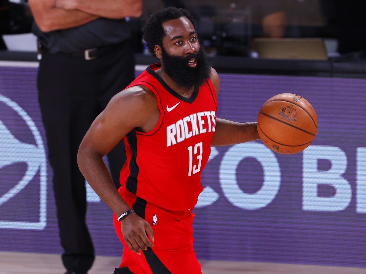 The Beard is ballin' in Orlando:  33.4 PPG 51.6 FG% 7.6 RPG 8.6 APG 3.0 SPG  @JHarden13 and the #4 in the West @HoustonRockets battle the #5 in the East Pacers at 4:00 PM ET on  @NBATV. #WholeNewGame https://t.co/3Az3KtgwUL